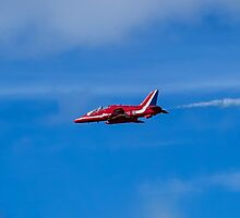 Red Arrows Hawk by Paul Madden