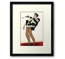 Kill it! Framed Print