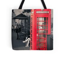 Phonebox at Eastbourne Tote Bag
