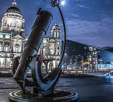 Telescope at the Pier Head by Paul Madden