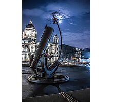 Telescope at the Pier Head Photographic Print