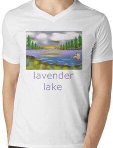 lavender lake Mens V-Neck T-Shirt
