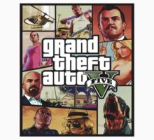 Grand theft auto 5 by hazzaclothing