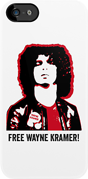 WAYNE KRAMER MC5 COOL IPHONE CASE by westox