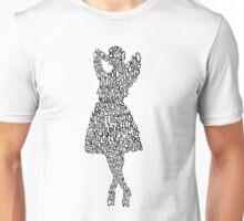 Girls in tight dresses Unisex T-Shirt