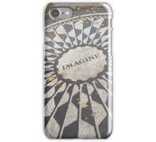 John Lennon Monument iPhone Case/Skin