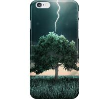Tunder and lighting iPhone Case/Skin