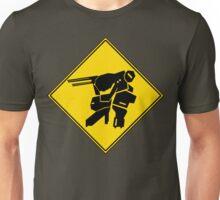 Bipedal Walking Tank X-ing Unisex T-Shirt
