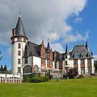 Klink Castle Hotel near Waren, Müritz Lake, Mecklenburg-Western Pomerania, Germany, Europe. by David A. L. Davies