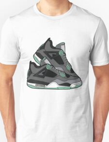 Air Jordan 4 ( Green Glows!) Unisex T-Shirt