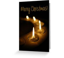 Christmas Candles 2 Greeting Card