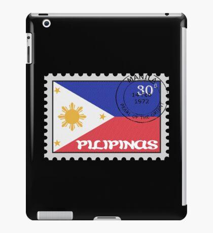 Philippines Stamp iPad Case/Skin