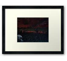 Beyond the Fall Framed Print
