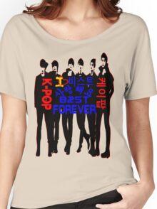 ♥♫I Love B2ST Forever Splendiferous K-Pop Clothes & Stickers♪♥ Women's Relaxed Fit T-Shirt