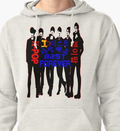 ♥♫I Love B2ST Forever Splendiferous K-Pop Clothes & Stickers♪♥ Pullover Hoodie