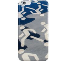We are all pedestrians iPhone Case/Skin