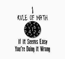 Nr 1 Rule Of Math Unisex T-Shirt