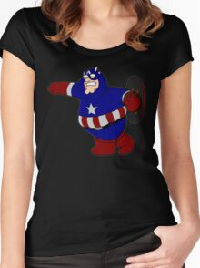 Captain Griffin Women's Fitted Scoop T-Shirt