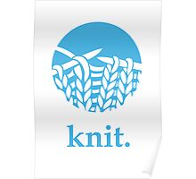 Knit. Poster