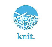 Knit. Photographic Print
