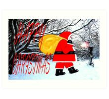 HAPPY CHRISTMAS 41 Art Print