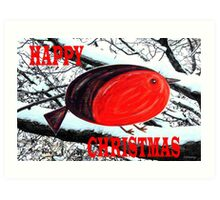 HAPPY CHRISTMAS 42 Art Print