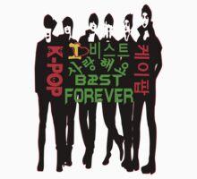 ♥♫I Love B2ST Forever Splendiferous K-Pop Clothes & Stickers♪♥ by Fantabulous