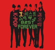 ♥♫I Love B2ST Forever Splendiferous K-Pop Clothes & Stickers♪♥ One Piece - Short Sleeve