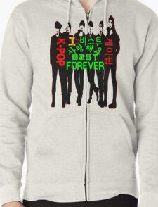♥♫I Love B2ST Forever Splendiferous K-Pop Clothes & Stickers♪♥ Zipped Hoodie
