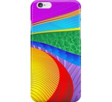 Rainbow Colors Abstract Fantasy iPhone Case/Skin