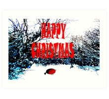 HAPPY CHRISTMAS 45 Art Print