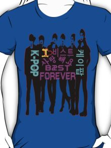 ♥♫I Love B2ST Forever Splendiferous K-Pop Clothes & Stickers♪♥ T-Shirt