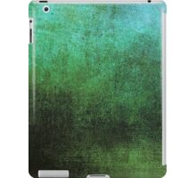 Abstract iPad Case Vintage Cool New Grunge Texture GREEN iPad Case/Skin