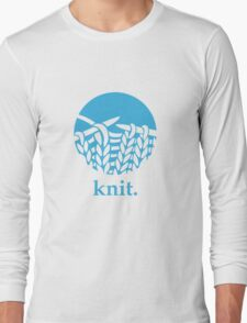 Knit. Long Sleeve T-Shirt