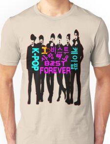 ♥♫I Love B2ST Forever Splendiferous K-Pop Clothes & Stickers♪♥ Unisex T-Shirt