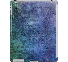 Abstract iPad Case Crazy Cool New Grunge Texture BLUE iPad Case/Skin