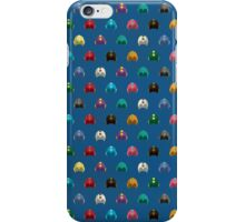 Cool Colorful Megaman Helmet Pattern iPhone Case/Skin