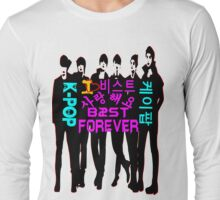 ♥♫I Love B2ST Forever Splendiferous K-Pop Clothes & Stickers♪♥ Long Sleeve T-Shirt
