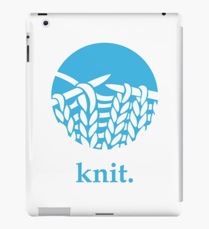 Knit. iPad Case/Skin