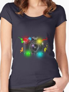 Canon T Shirt Women's Fitted Scoop T-Shirt
