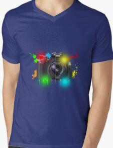 Canon T Shirt Mens V-Neck T-Shirt