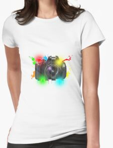 Canon T Shirt Womens Fitted T-Shirt