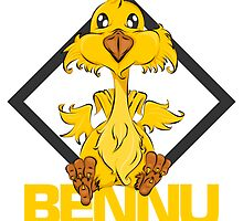 Bennu The Phoenix! by eaRaccoon