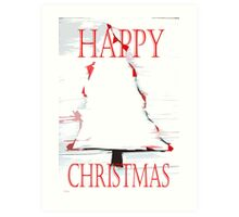 HAPPY CHRISTMAS 49 Art Print