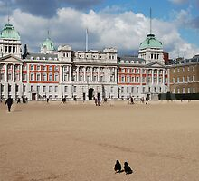 London: Horse Guards Parade & the Old Admiralty Building  by justbmac