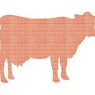 Cow Stamps by axemangraphics