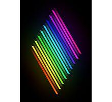 Rainbow Hexel Photographic Print