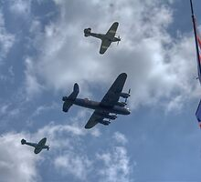 Battle of Britain Memorial Flight by Wendy Williams