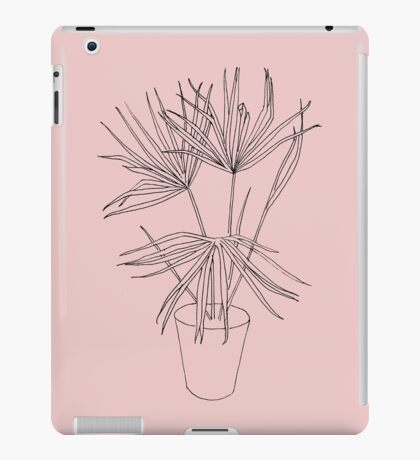 Palm Sketch iPad Case/Skin
