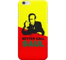 Better Call Saul (Red/Yellow) iPhone Case/Skin